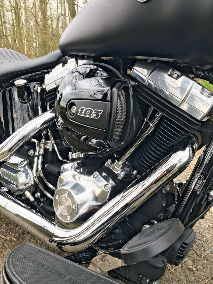 103 cui Harley Davidson Softail Slim 2016