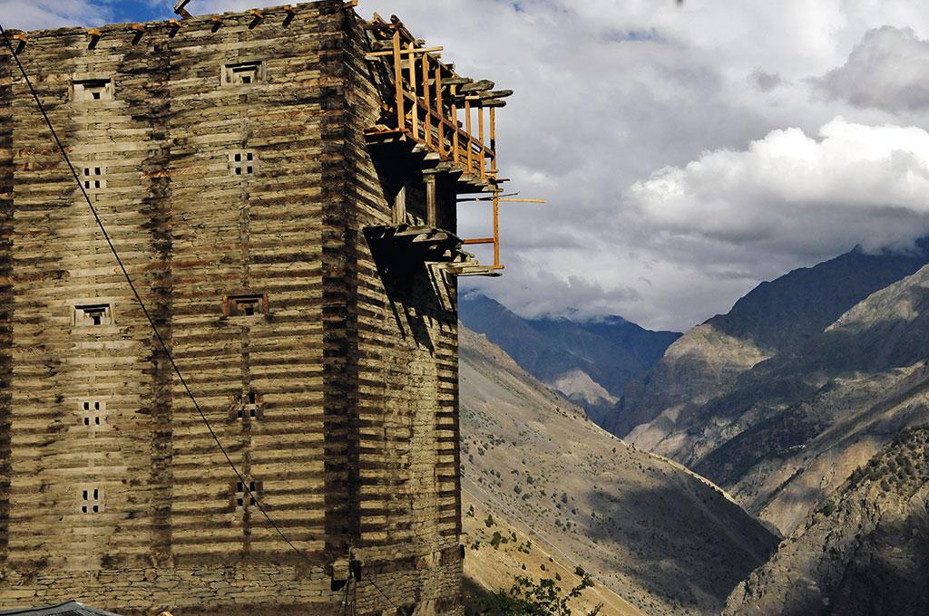 Fort von Labrang Himalaya