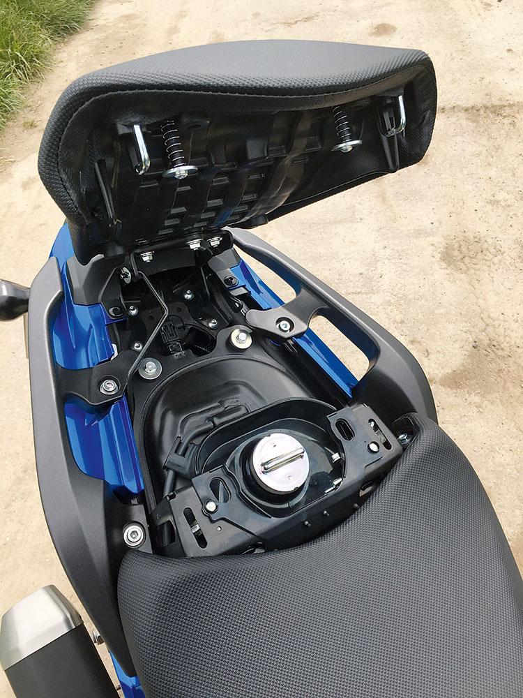 Honda NC750X DCT 2016 Tankstutzen