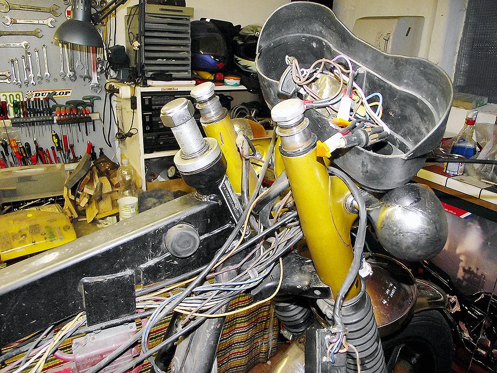 KTM RS125GP Kabelsalat