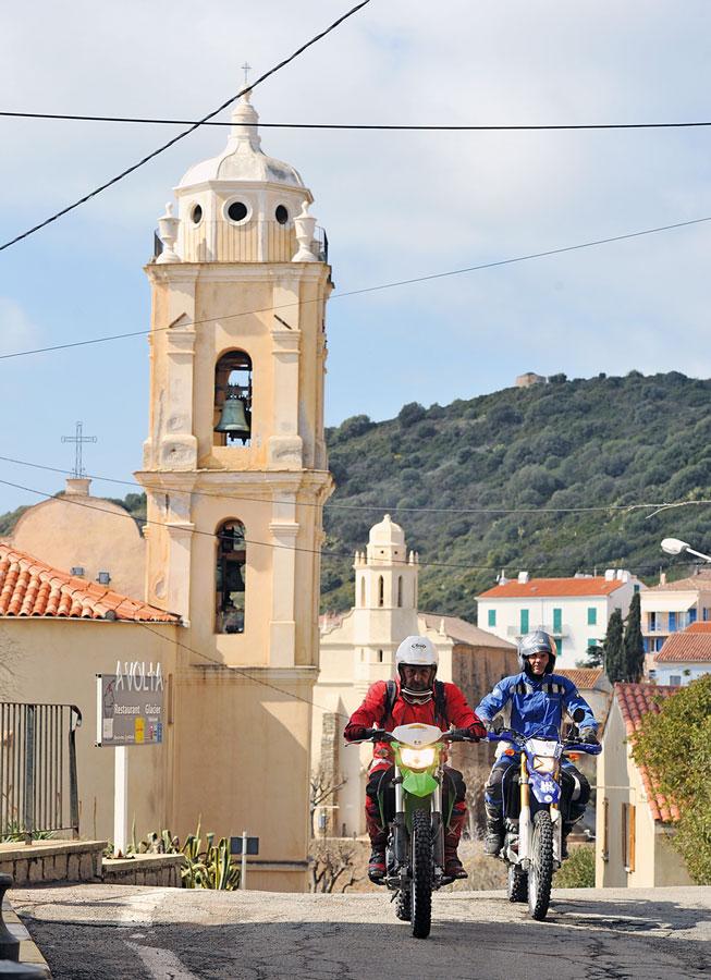 Endurotour Korsika Bergdoerfer