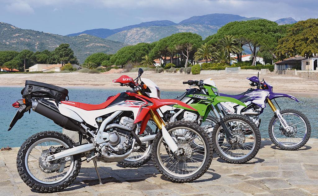 Endurotour Korsika Honda Kawasaki Yamaha