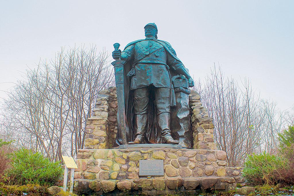 Bismarckdenkmal auf dem Aschberg Ascheffel