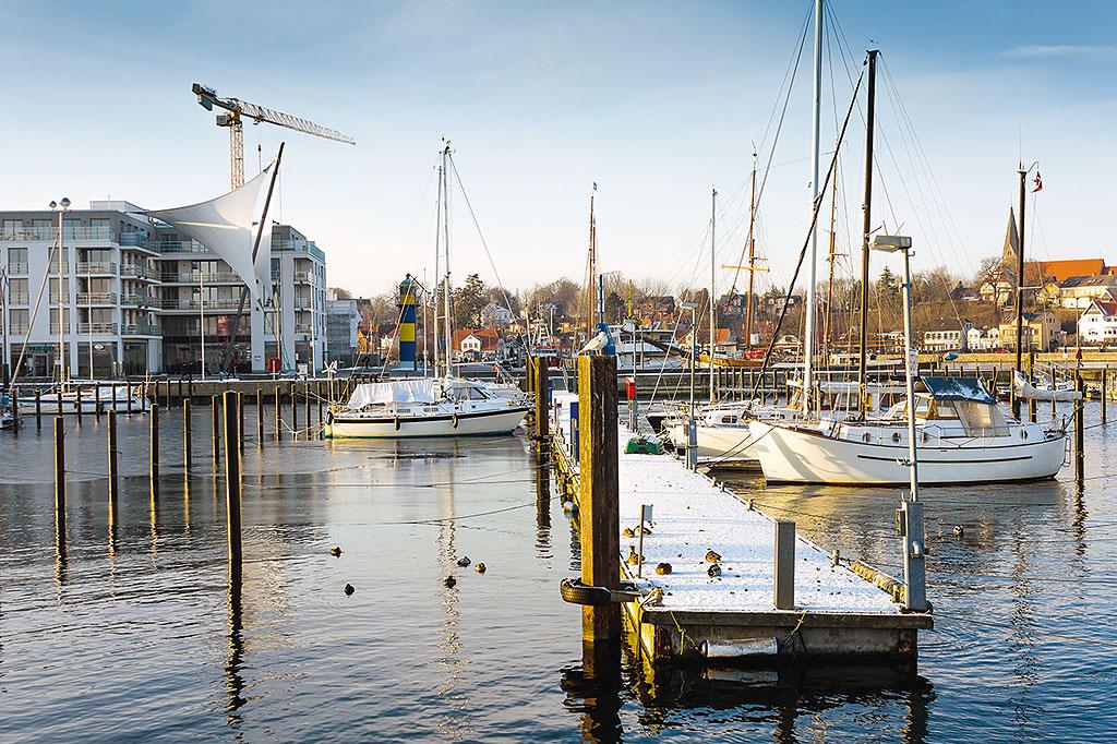 Eckernfoerde Sportboothafen