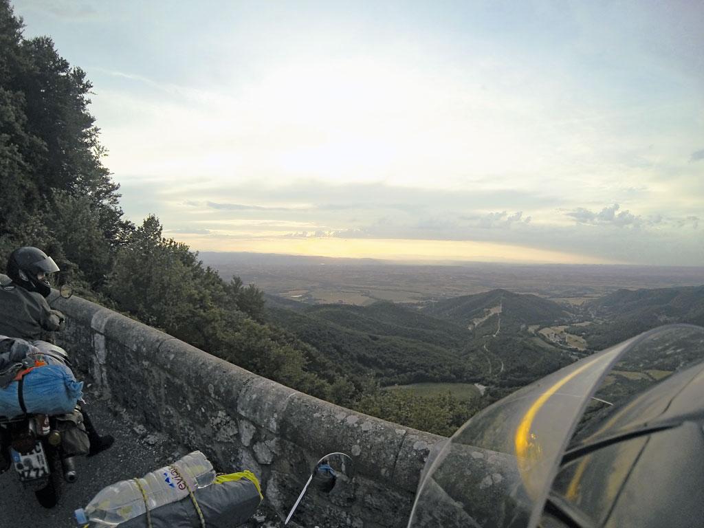 Ausblick Auvergne