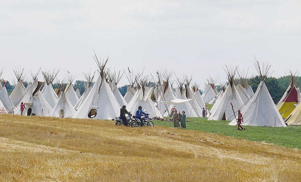 Indianer in Mecklenburg Vorpommern