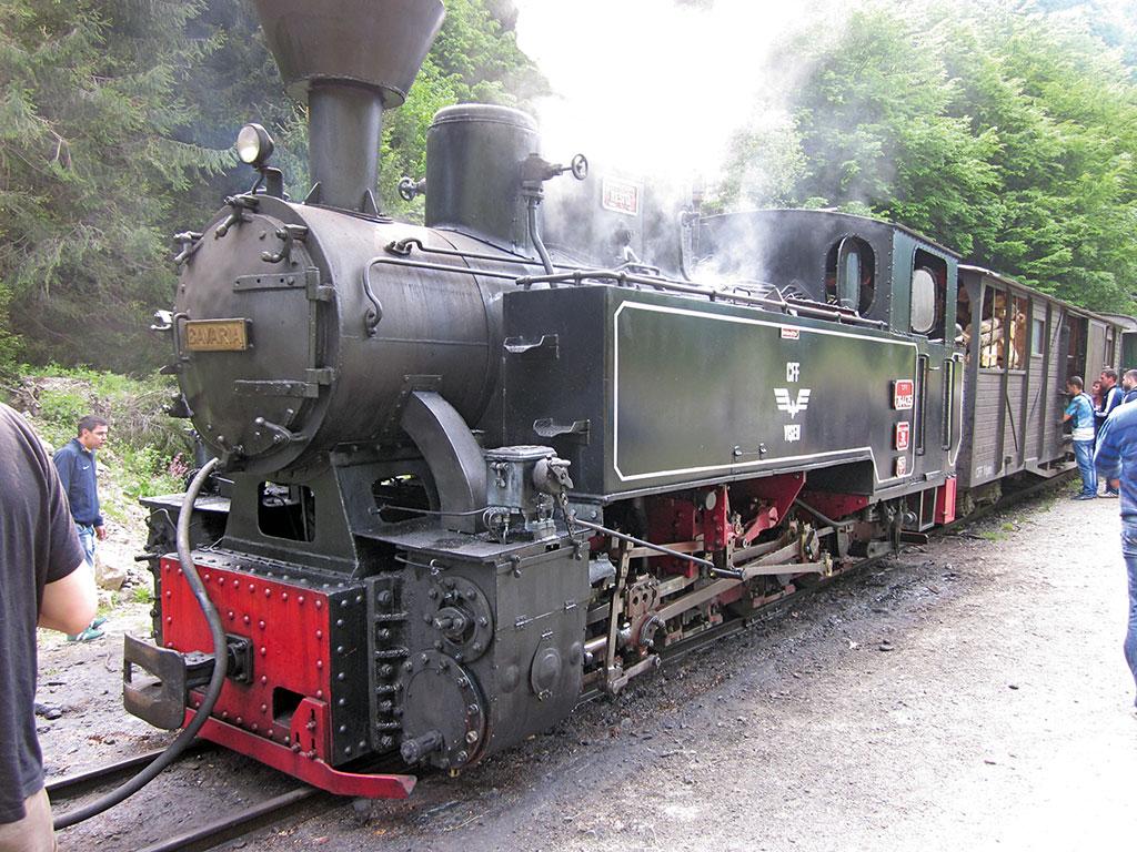 Waldbahn der Karpaten