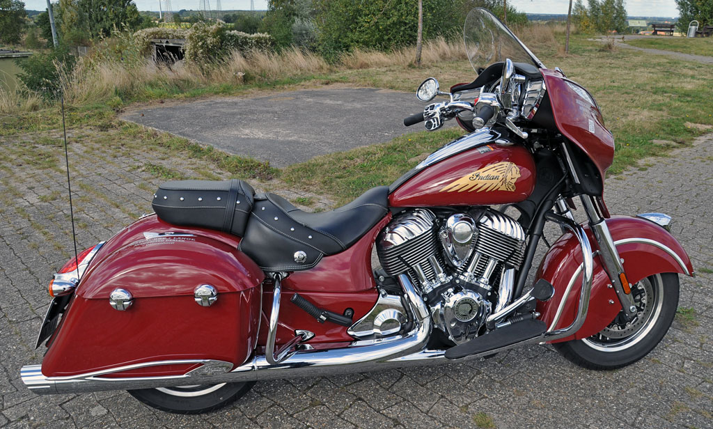 Indian Chieftain Modell 2016 rechts