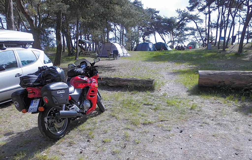 Campingplatz auf Ruegen