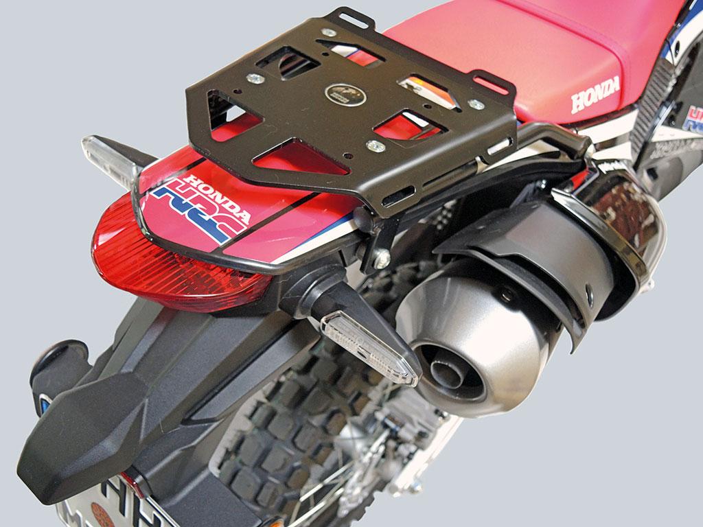 Honda CRF 250 Rallye LED-Blinker und Mini-Rack von Hepco & Becker