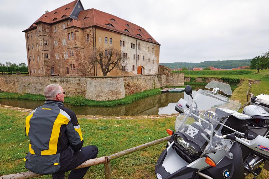Wasserburg Heldrungen, Kerker Thomas Müntzers - Foto Frank Sachau