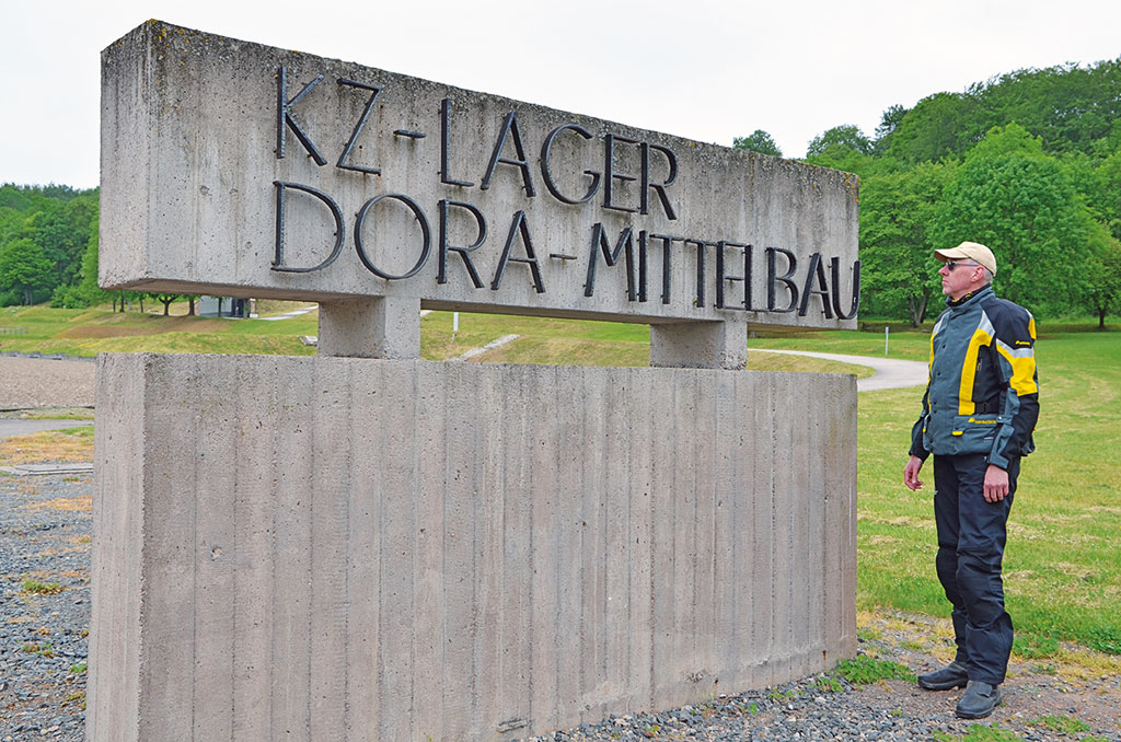 Bedrückend, das KZ Mahnmal Dora Mittelbau - Foto Frank Sachau