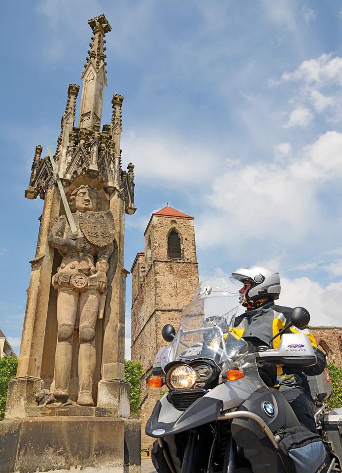 Der Roland in Zerbst - Foto Frank Sachau