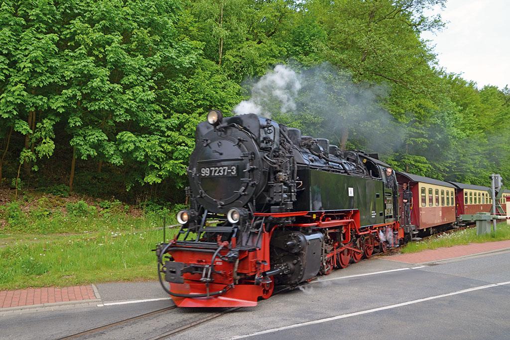 Die Selketalbahn - Foto Frank Sachau