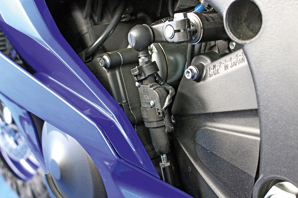 Quickshifter - Yamaha YZF-R6 Modell 2017