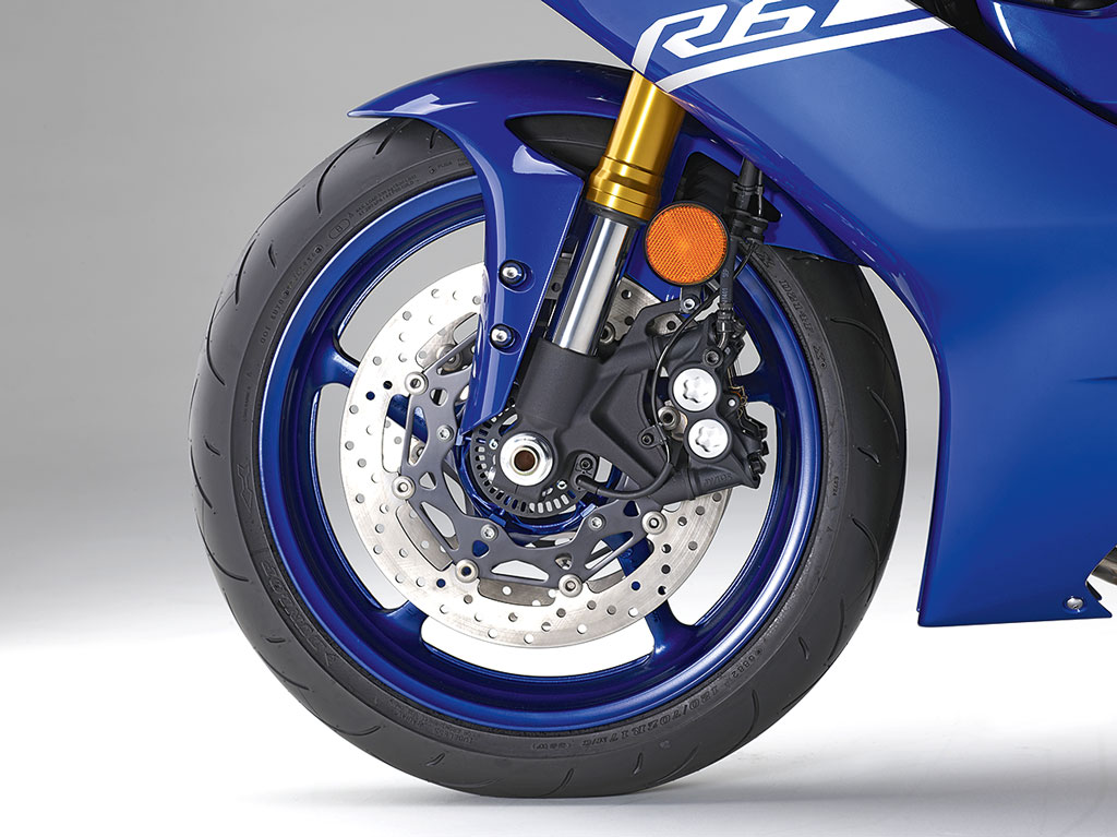 Bremsanlage - Yamaha YZF-R6 Modell 2017