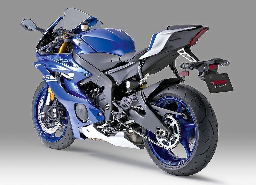 Yamaha YZF-R6 Modell 2017