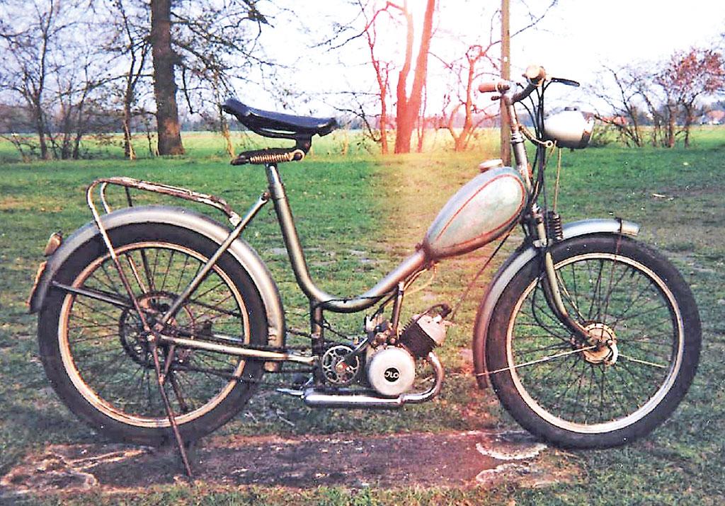 Hillmann Moped von 1955/56