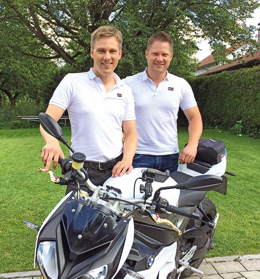 Rainer und Robert Stelzenberger