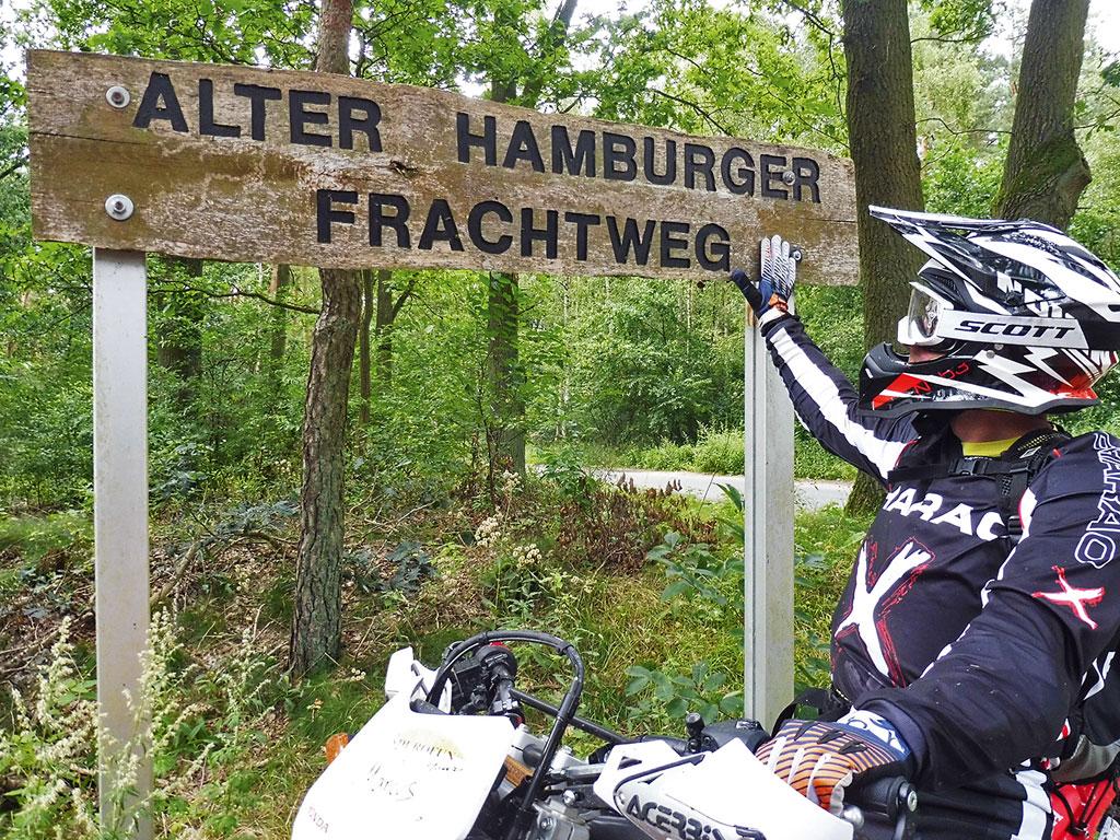 Spurensuche - Endurotour Mecklenburg Vorpommern