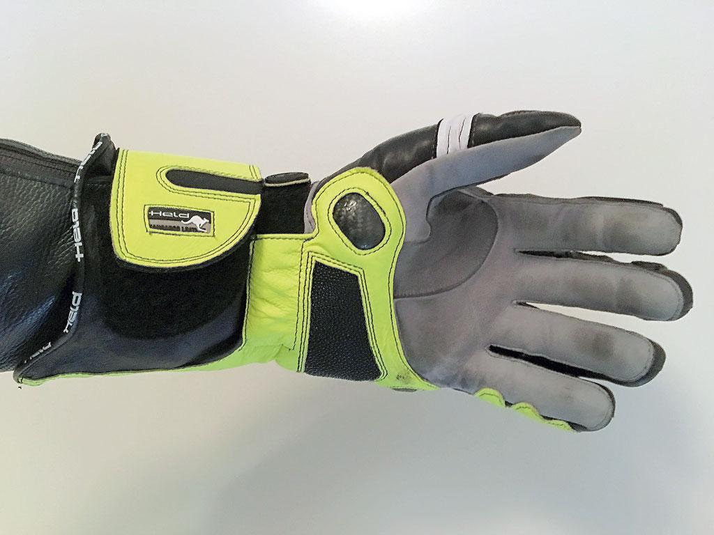 Grifffläche - Held Titan Evo Handschuhe