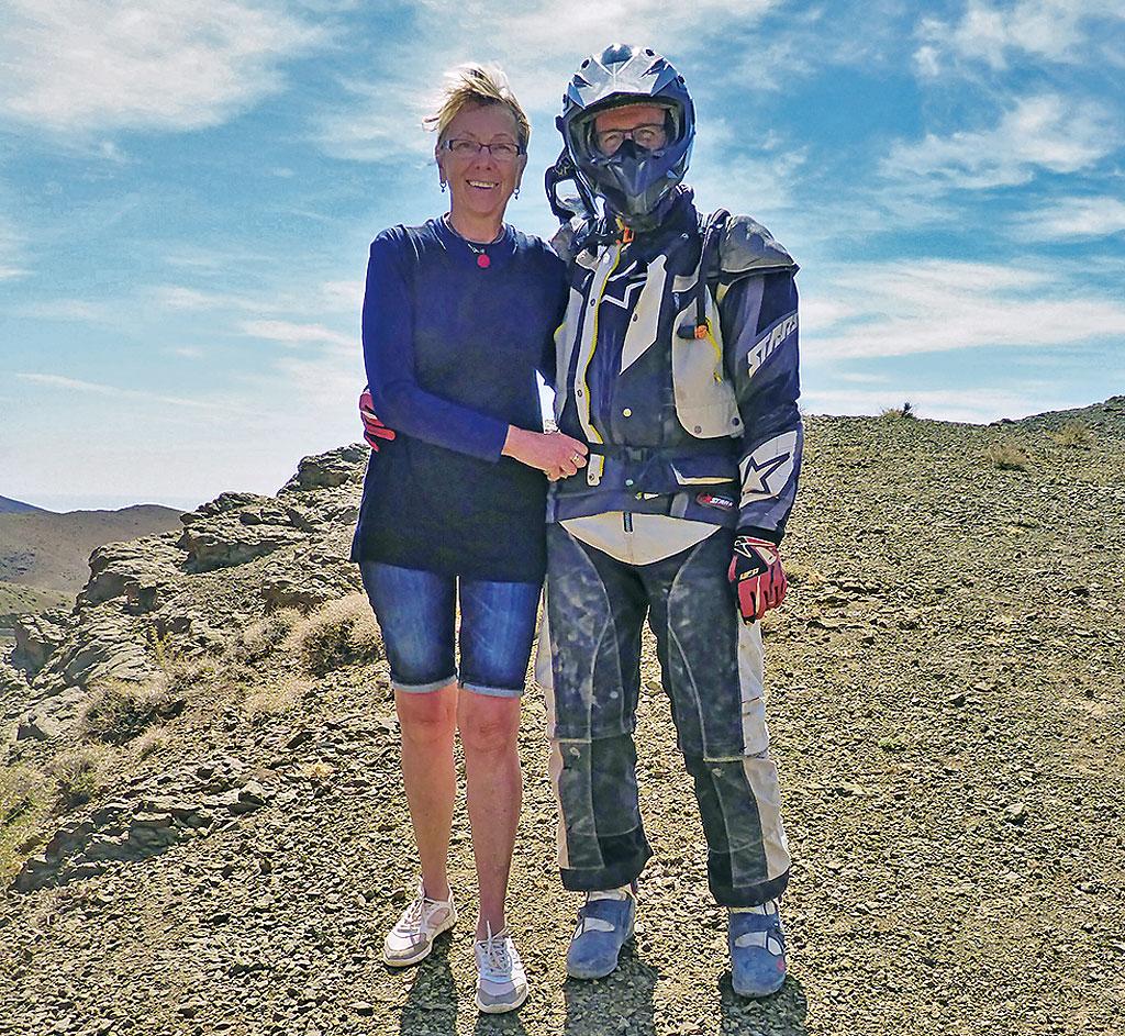 Petra und Rainer - Geführte Endurotour Marokko mit Motorrad-Adventure-Travel
