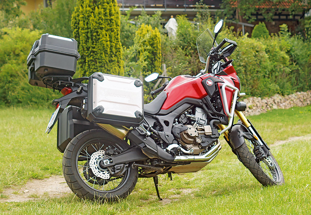 Honda CRF 1000 L Africa Twin in Vollausstattung