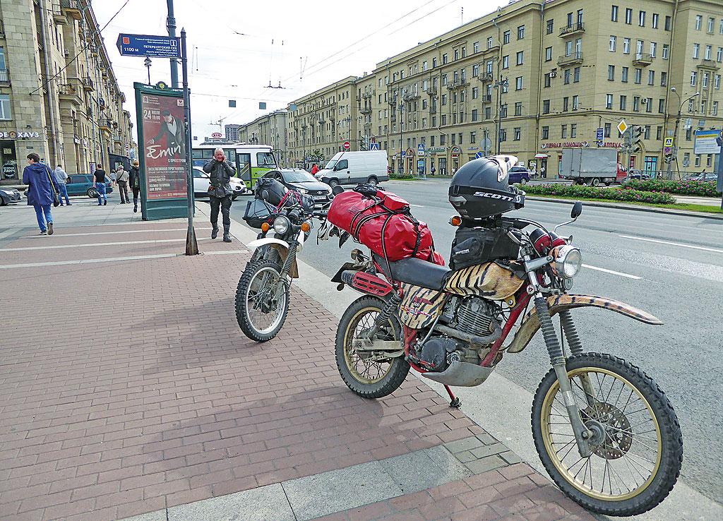 2016 Moskovskaya - Yamaha XT 500 - 208.842 km – to be continued…