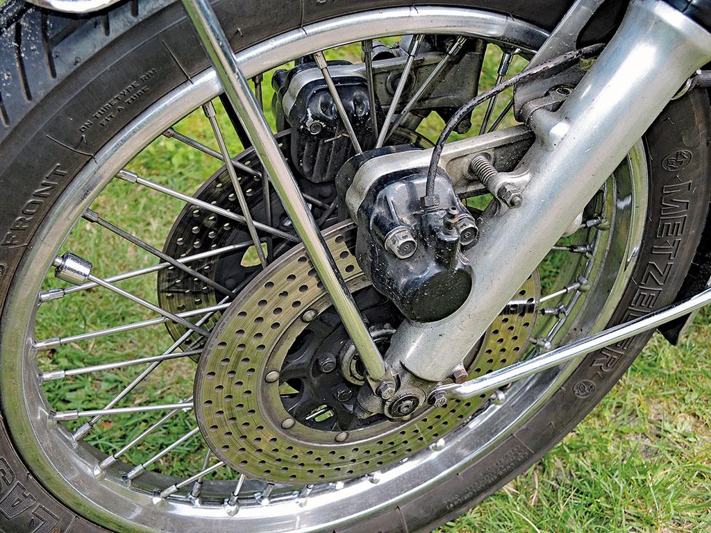 Bremse vorne - Honda CB 500 Four