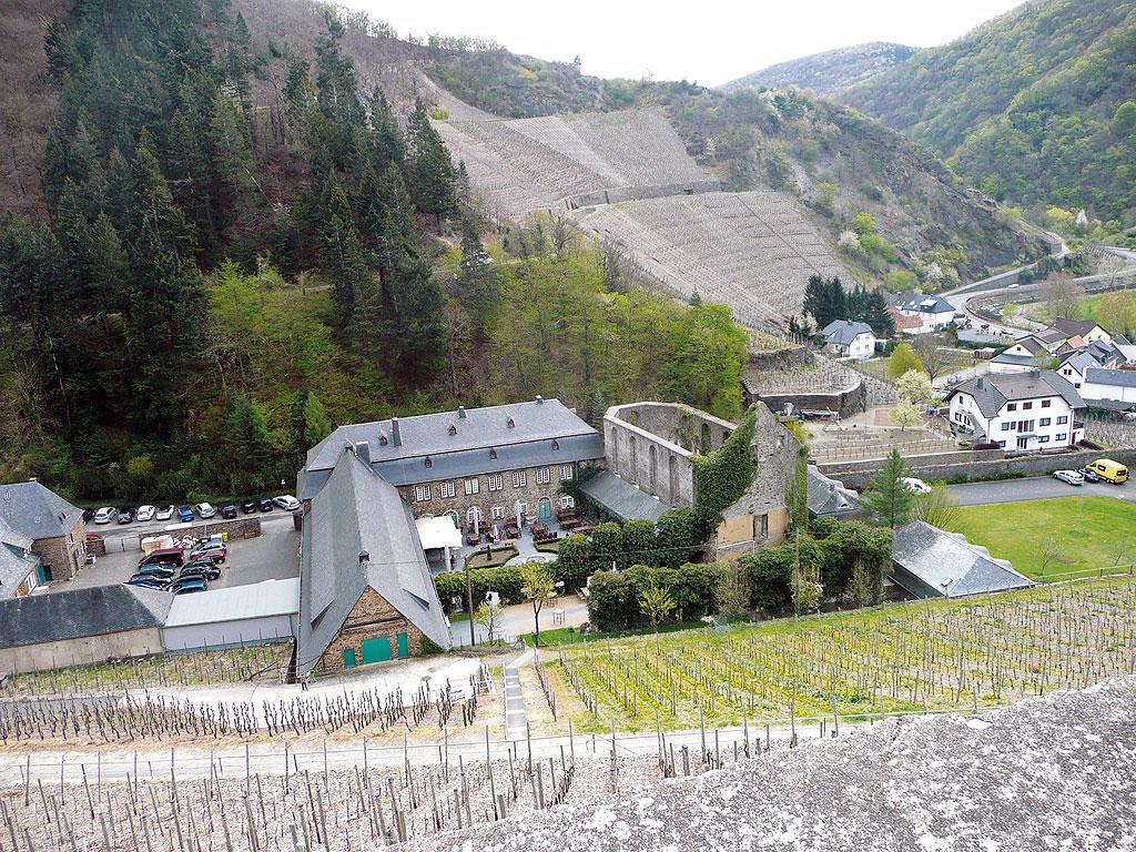 Kloster Marienthal in den Weinbergen