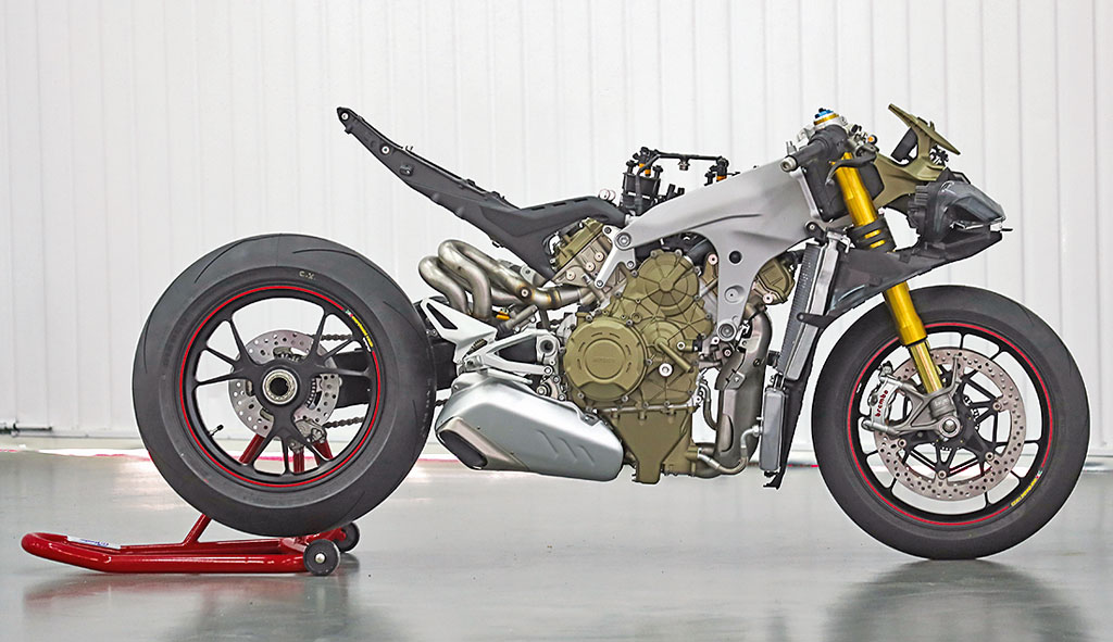 Rolling Chassis - Ducati Panigale V4 S Modell 2018