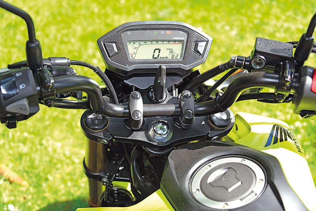 Cockpit - Honda MSX 125, Modell 2017