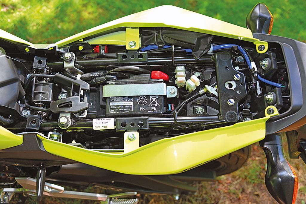 Kein Stauraum - Honda MSX 125, Modell 2017