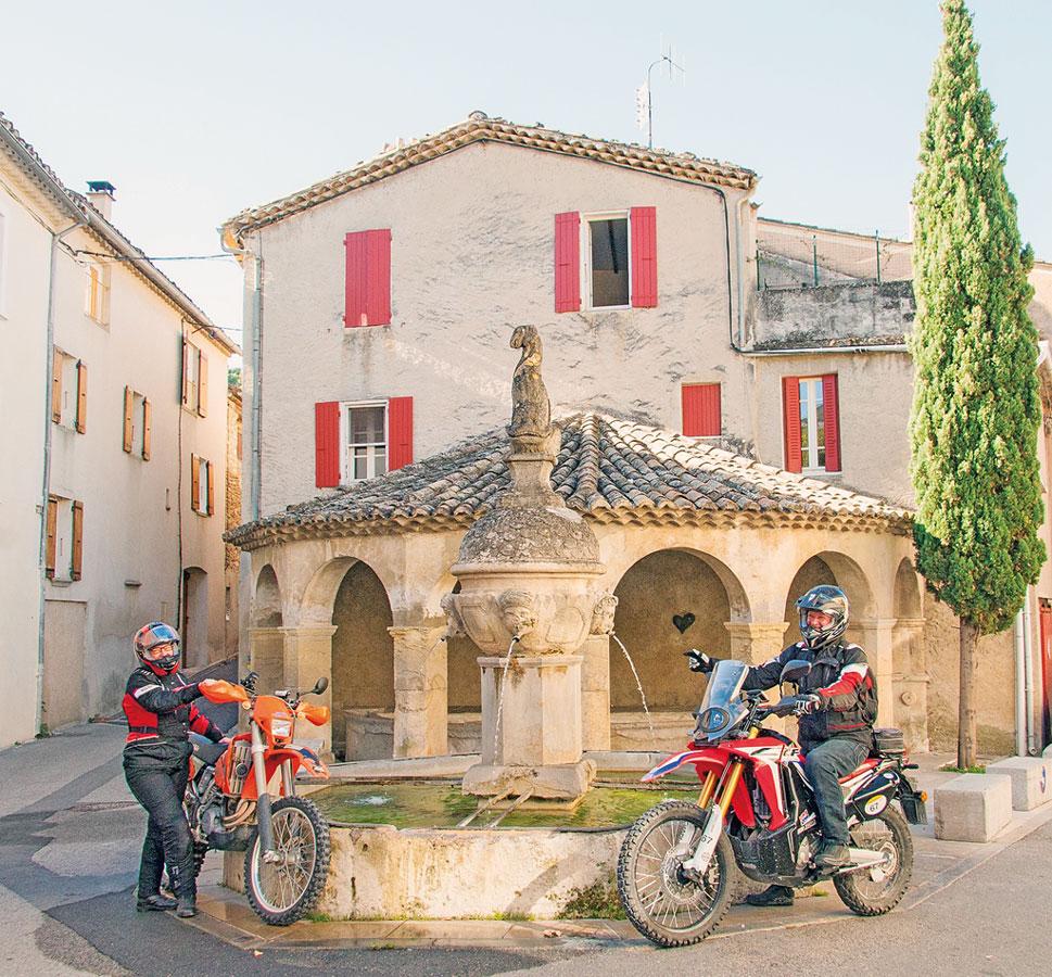 Endurowandern in Südfrankreich