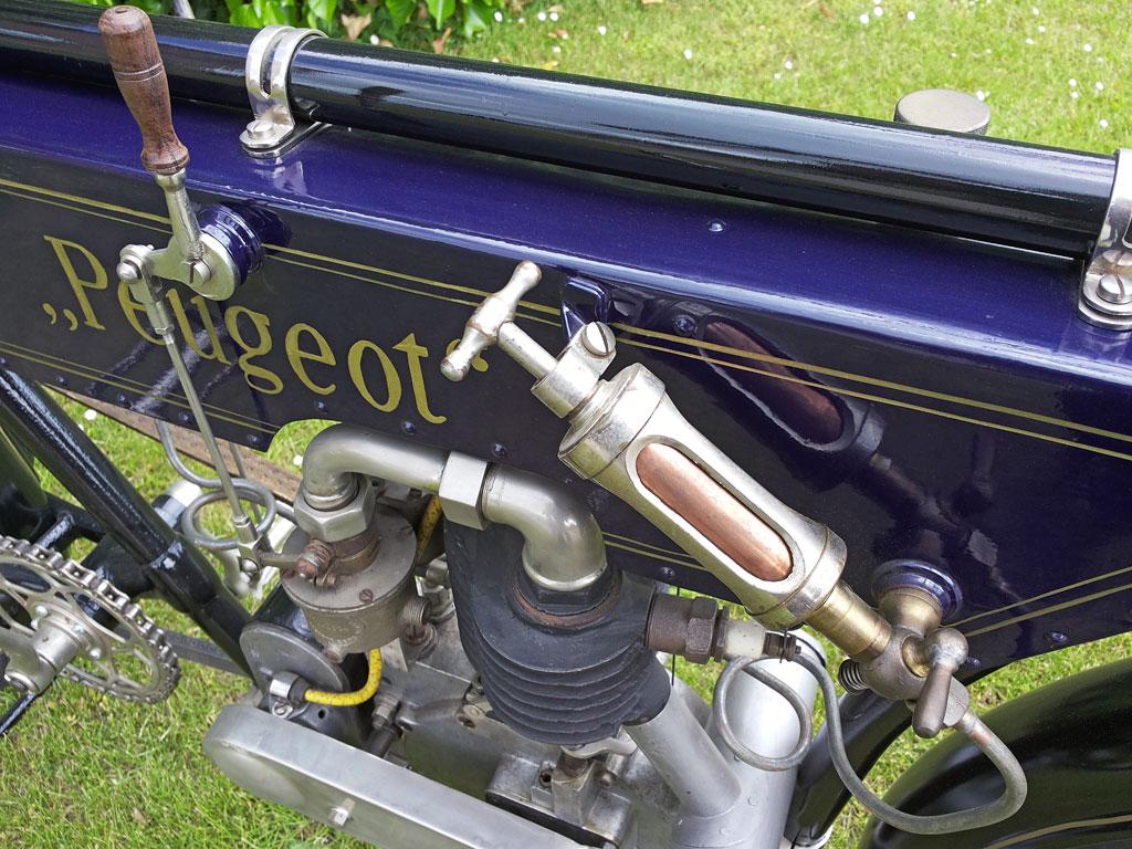 Manuelle Ölpumpe - Peugeot Motorrad Bj. 1904