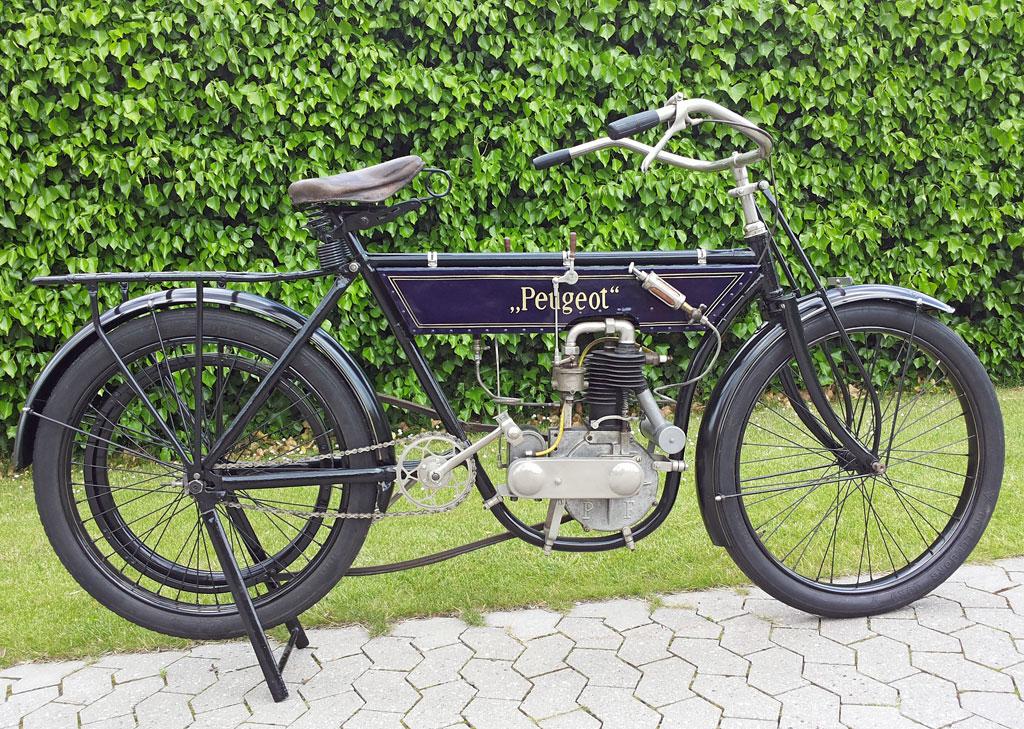 Peugeot Motorrad Bj. 1904
