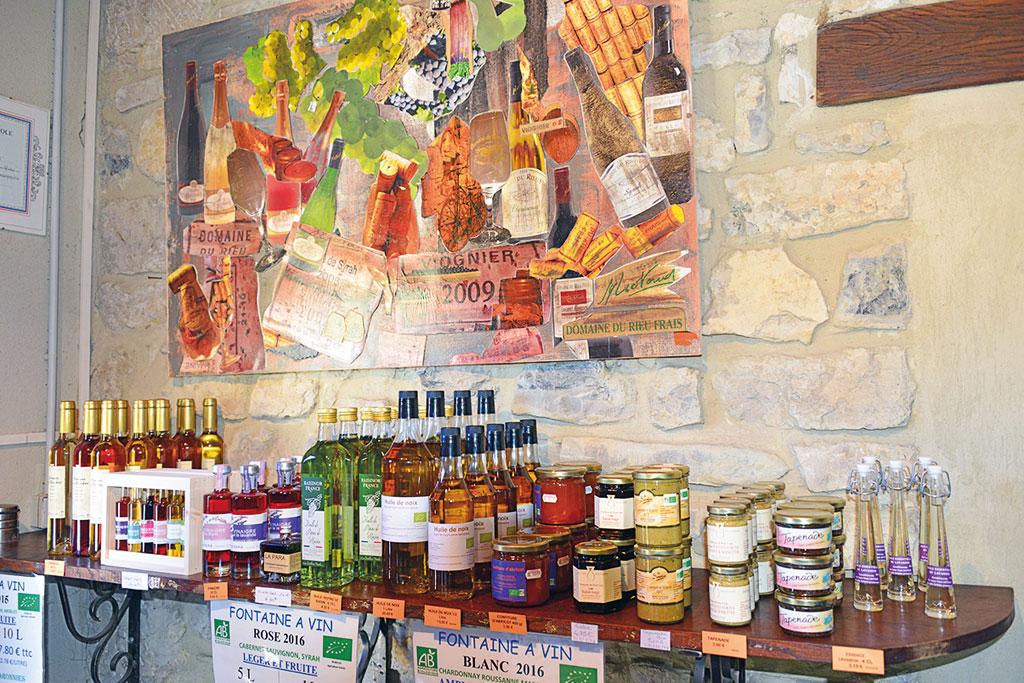 Regionale Produkte - Endurowandern in Südfrankreich