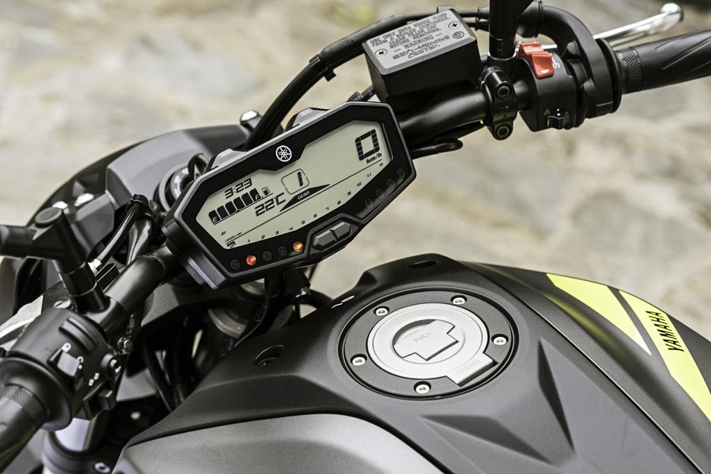 Tacho Yamaha MT-07 Modell 2018