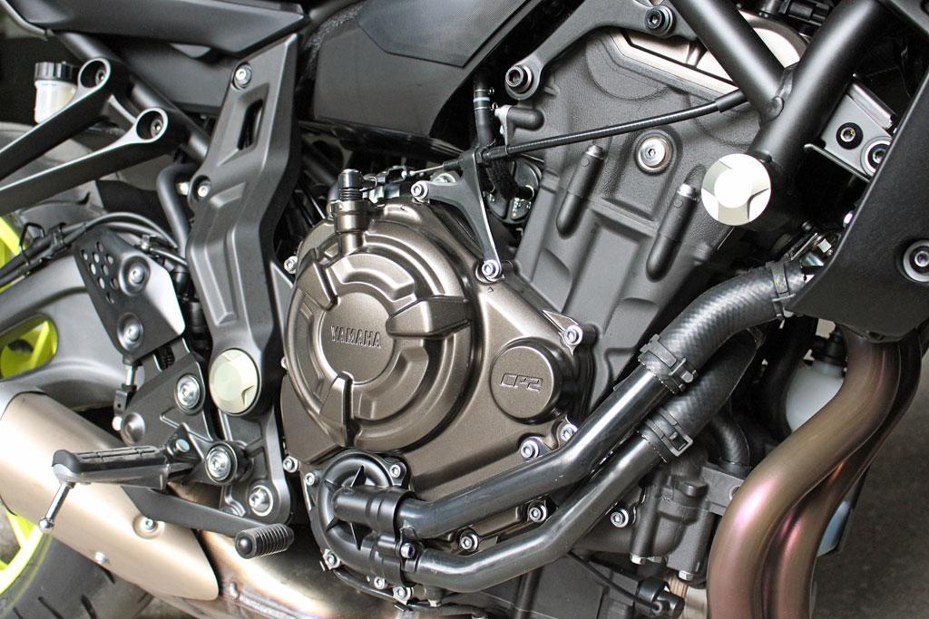 Crossplane Motor Yamaha MT-07