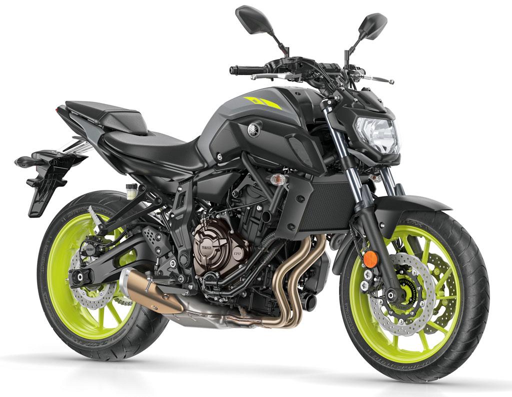 Yamaha MT-07, Modell 2018