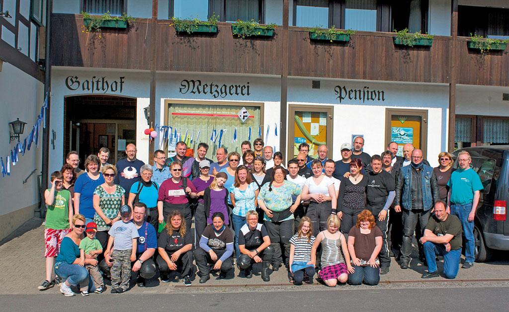 20 Jahre Motorrad Gruppenreise nach Pfarrweisach