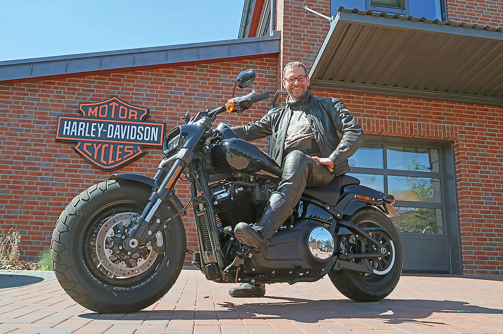 Bei Börjes: Harley-Davidson Fat Bob, Modell 2018