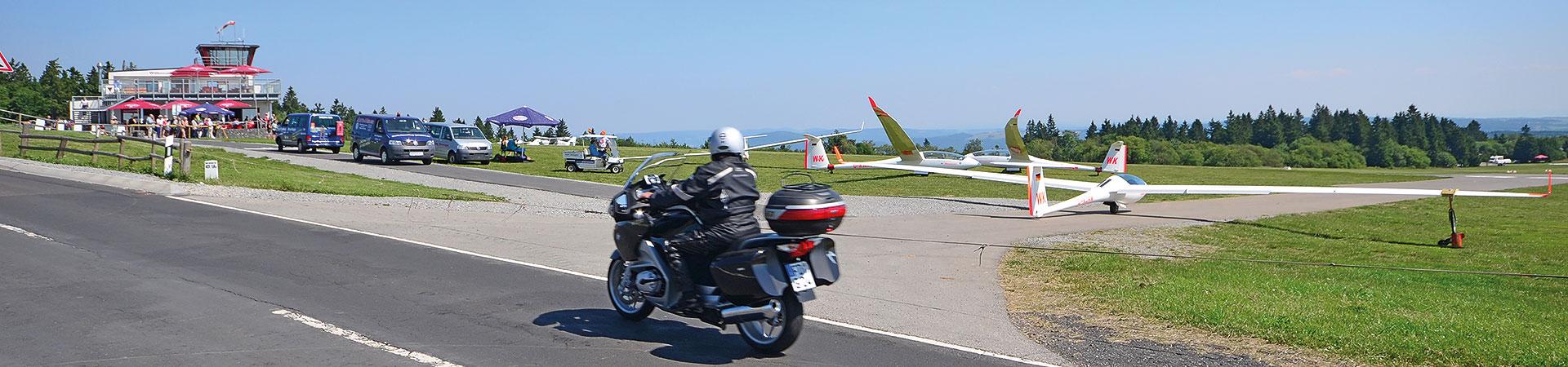 Motorradtour Rhön – Wasserkuppe