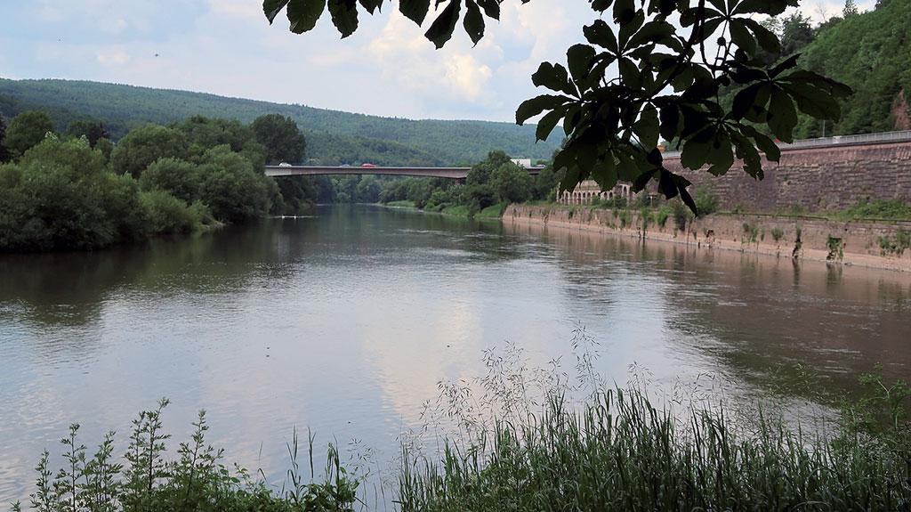 Der Beginn der Weser - Zusammenfluss von Fulda und Werra
