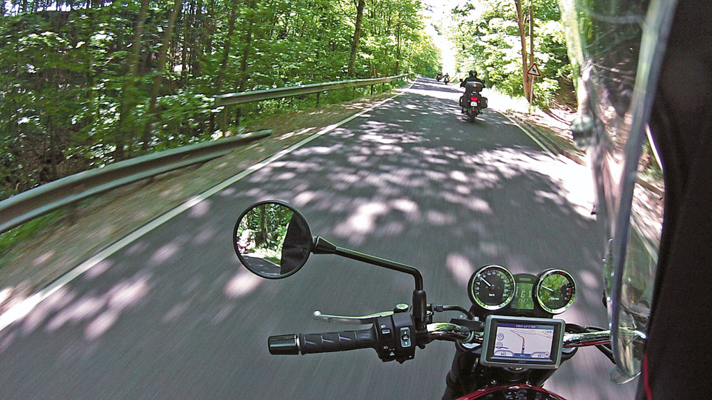 Motorradtour in Luxemburg