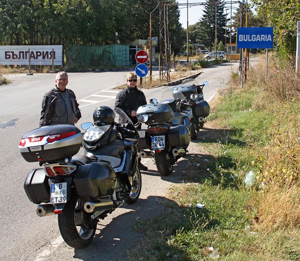 Yamaha FJR 1300 in Bulgarien