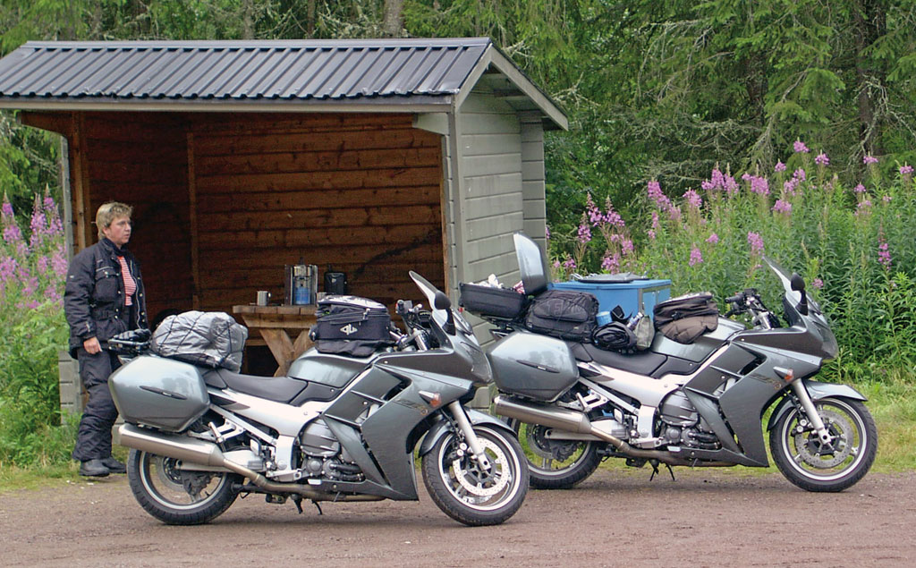 Yamaha FJR 1300 mit 200.000 km