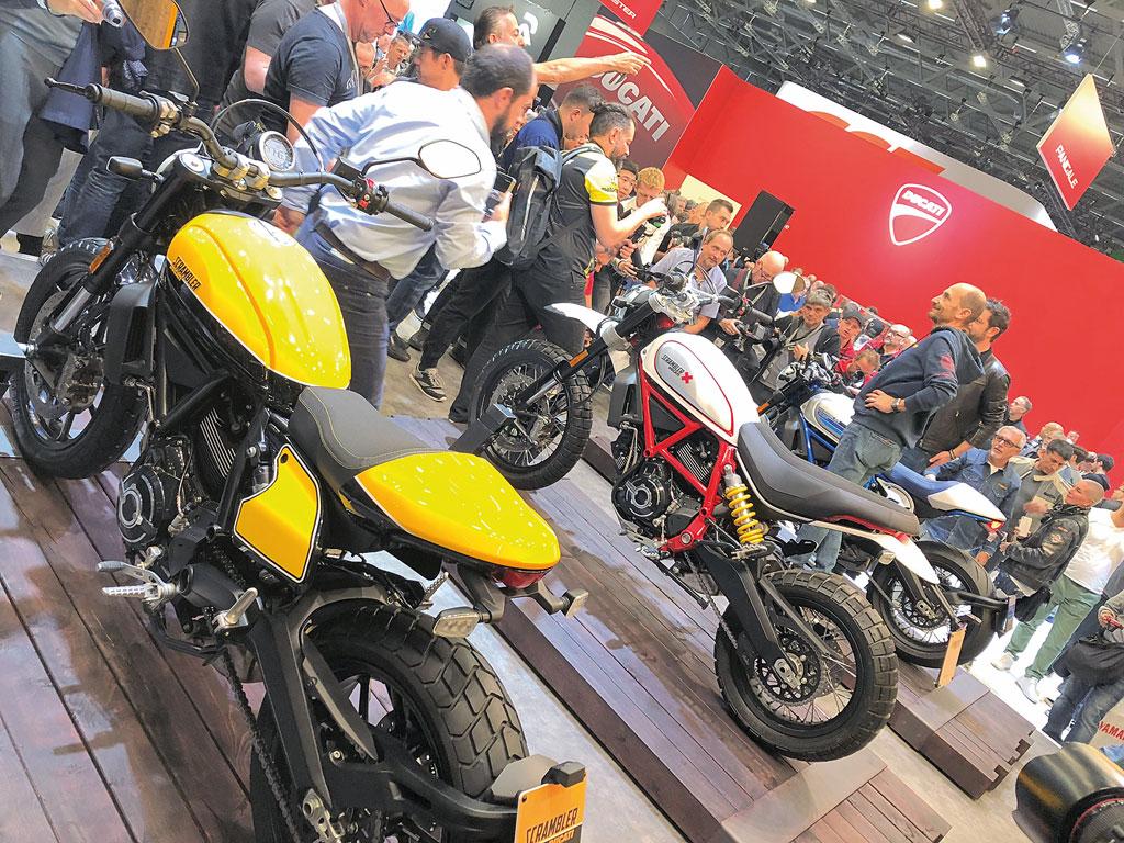 Ducati Scrambler - INTERMOT 2018