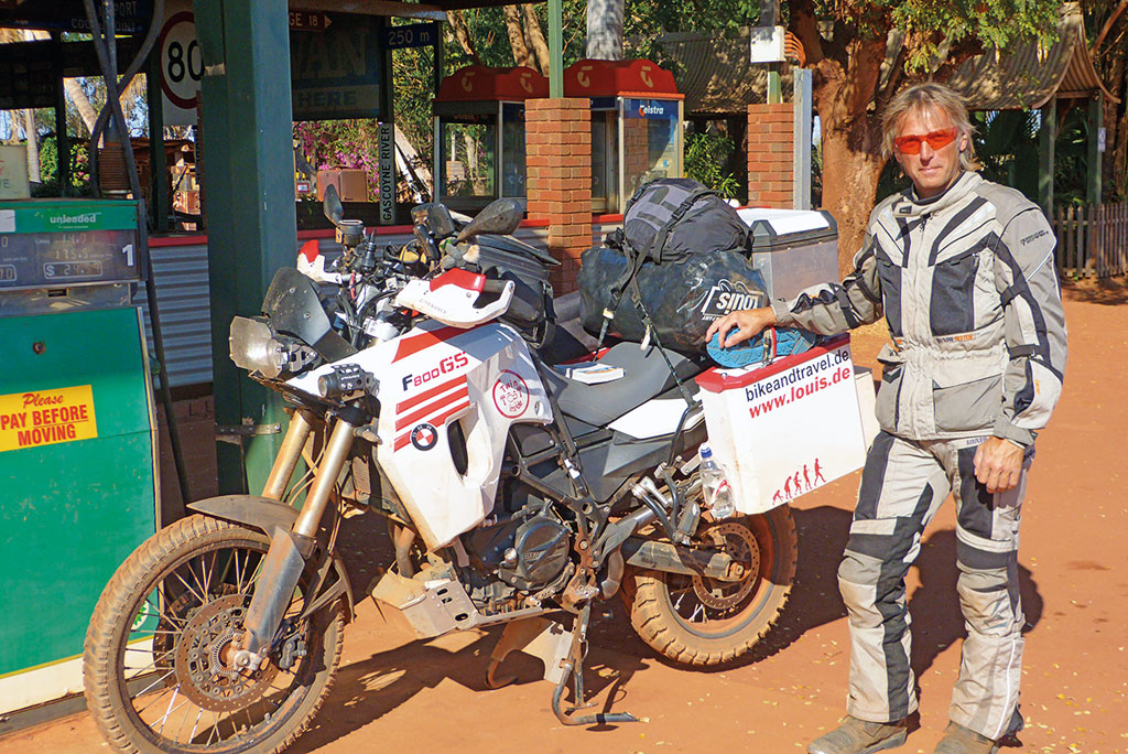 Hini in Australien - www.bikeandtravel.de