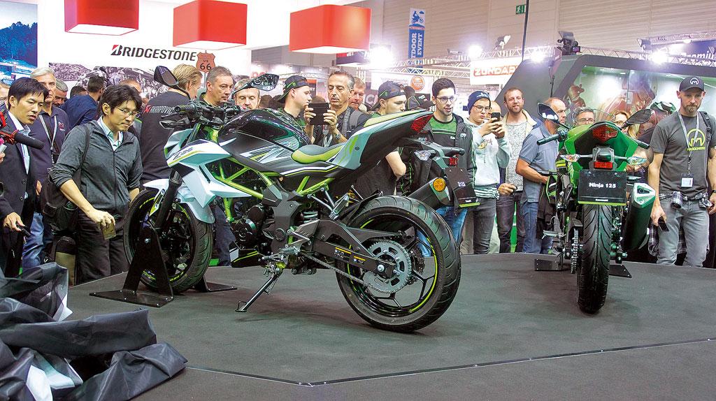 Kawasaki 125er - INTERMOT 2018